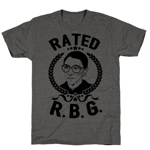 Rated R.B.G. Mens T-Shirt