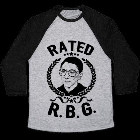 Rated R.B.G. Baseball Tee