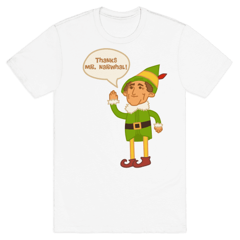 Thanks Mr. Narwhal Mens T-Shirt