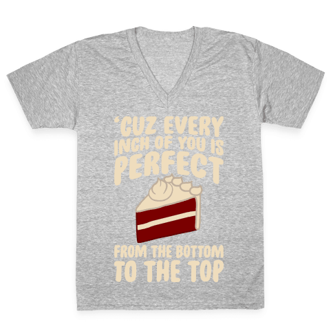 Every Inch Of You Is Perfect From The Bottom To The Top V-Neck Tee Shirt
