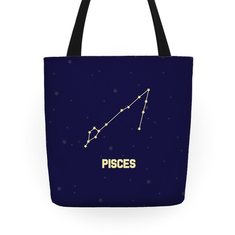 Pisces Horoscope Sign Tote