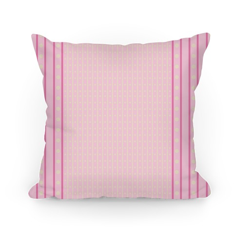 Pastel Pink Stripes and Polka Dots