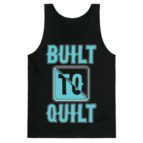 Built To Quilt Tank Top