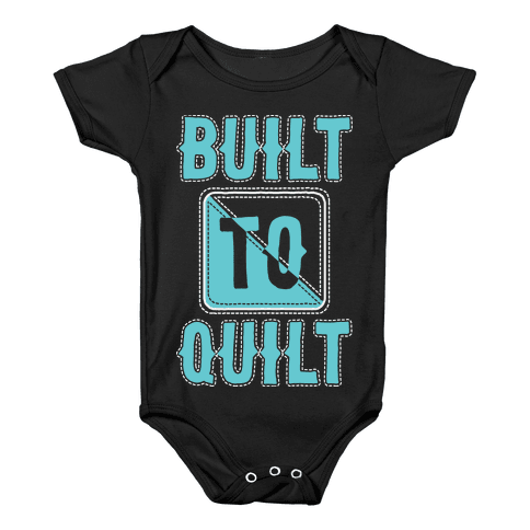 Built To Quilt Baby Onesy