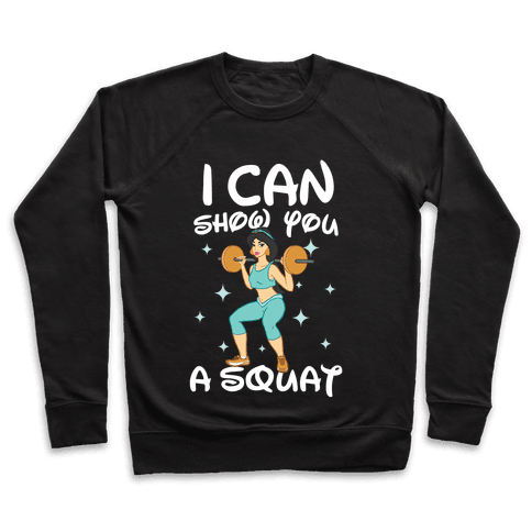 I Can Show You a Squat Pullover