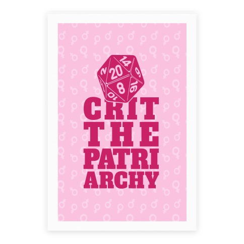 Crit The Patriarchy Poster
