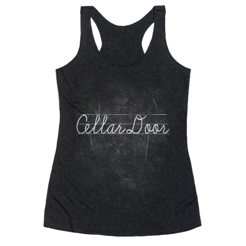 Cellar Door Racerback Tank Top