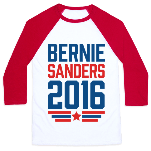 Bernie Sanders 2016 Baseball Tee