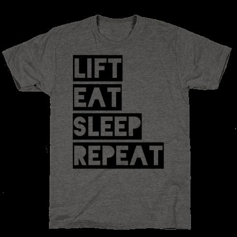 Lift Eat Sleep Repeat