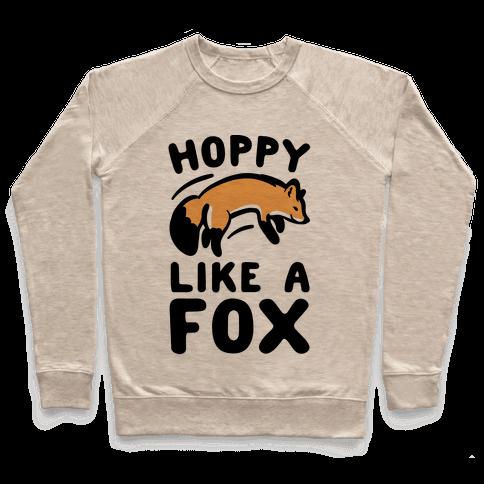 Hoppy Like A Fox Pullover