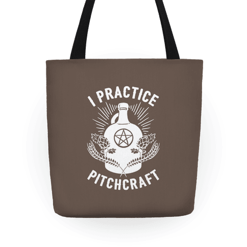 I Practice Pitchcraft Tote