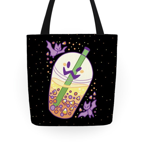 Toil and Trouble Bubble Tea Tote