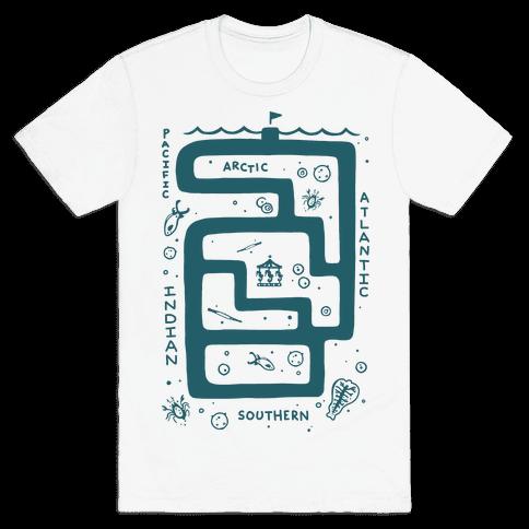 Zoo Plankton Mens T-Shirt
