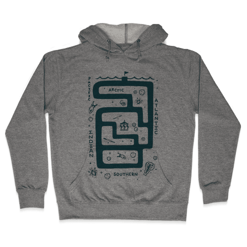 Zoo Plankton Hooded Sweatshirt