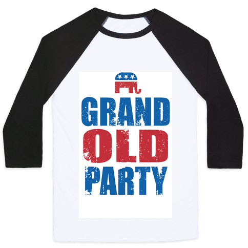 The Grand Old Party Baseball Tee