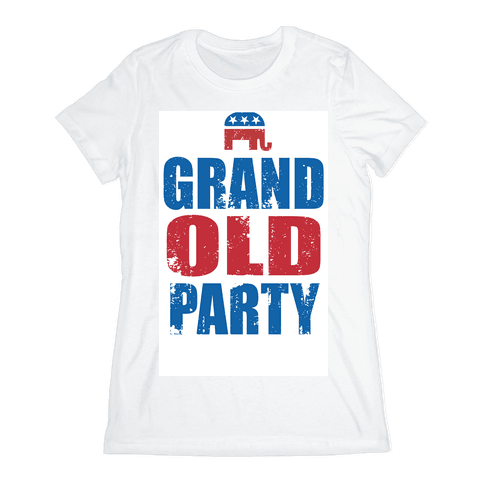 The Grand Old Party Womens T-Shirt