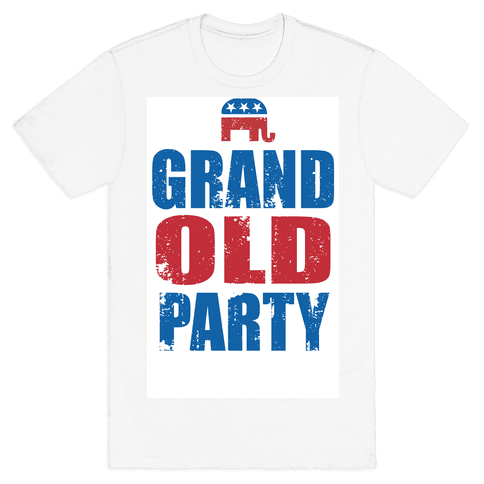 The Grand Old Party Mens T-Shirt