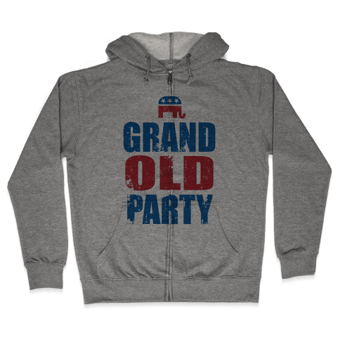The Grand Old Party Zip Hoodie