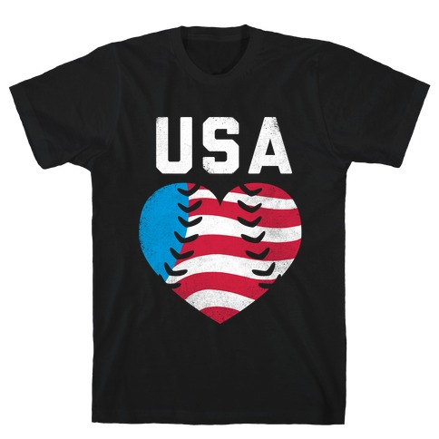 USA Baseball Love (Tank) T-Shirt