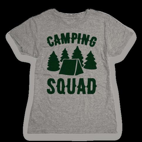Camping Squad Womens T-Shirt