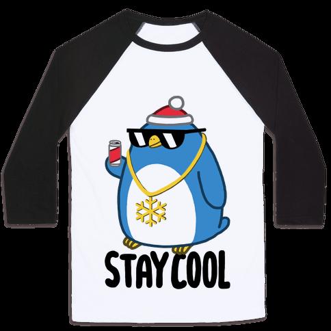 Stay Cool Baseball Tee