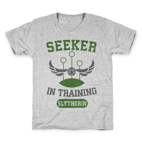 Seeker In Training (Slytherin) Kids T-Shirt