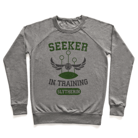 Seeker In Training (Slytherin) Pullover