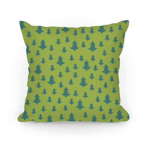 Tree Pattern (Light) Pillow