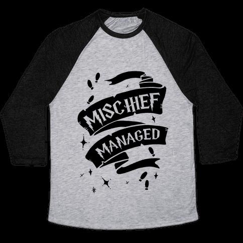 Mischief Managed Baseball Tee