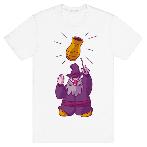 The Wizard Of Vase Mens T-Shirt