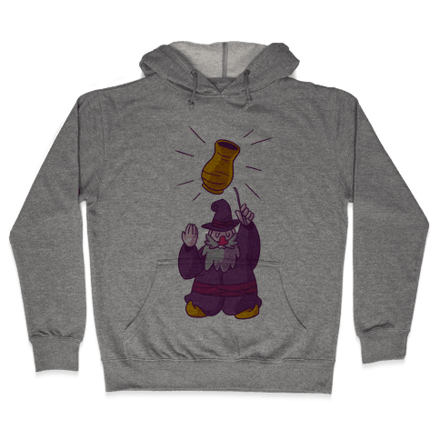 The Wizard Of Vase Hooded Sweatshirt