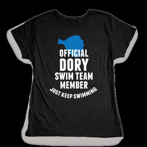 Official Dory Swim Team Member Womens T-Shirt