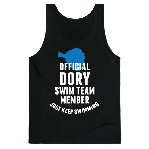 Official Dory Swim Team Member Tank Top