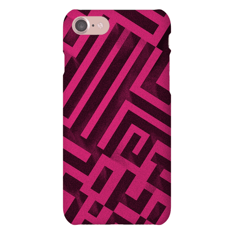 Bismuth Maze Phone Case