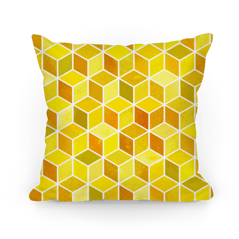 Honey Comb Pillow Pillow