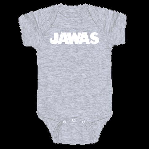 Jawas (Jaws/Star Wars Parody) Baby Onesy