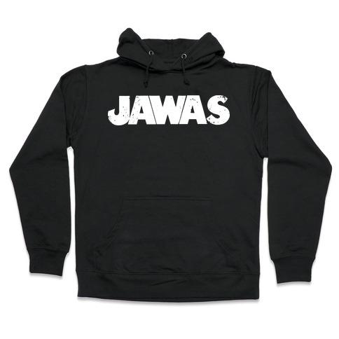 Jawas (Jaws/Star Wars Parody) Hooded Sweatshirt