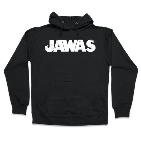 Jawas (Jaws/Star Wars Parody) Hooded Sweatshirt