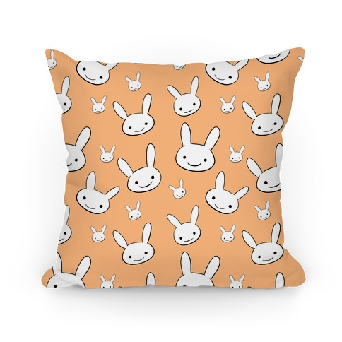 Ryoku's Bunny Pattern Pillow