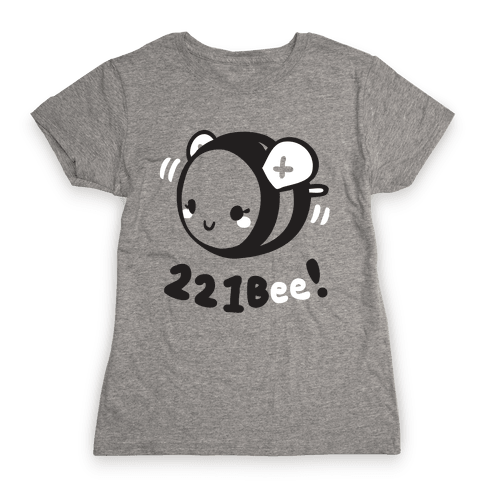 221 Bee Womens T-Shirt