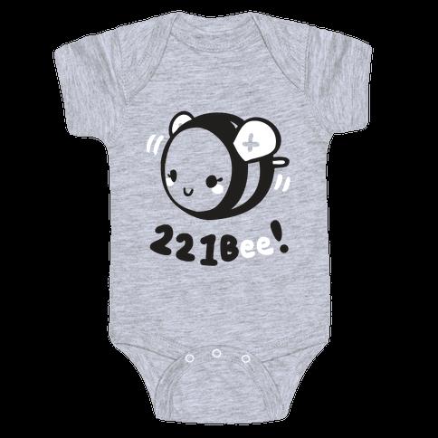 221 Bee Baby Onesy