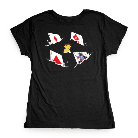 Card Sharks Womens T-Shirt
