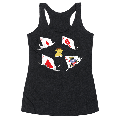 Card Sharks Racerback Tank Top