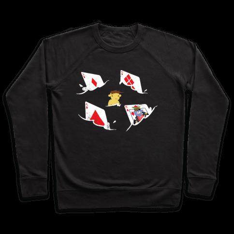 Card Sharks Pullover