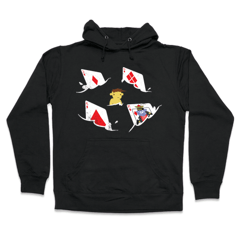 Card Sharks Hooded Sweatshirt