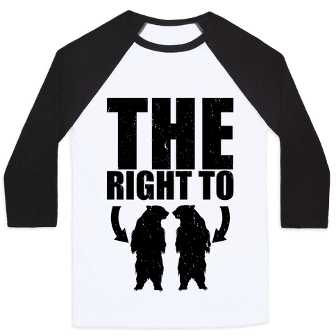 The Right to Bear Arms Baseball Tee