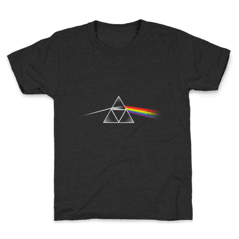 Dark Side of the Triforce Kids T-Shirt