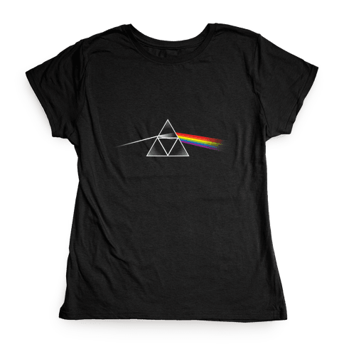 Dark Side of the Triforce Womens T-Shirt