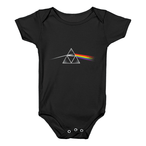 Dark Side of the Triforce Baby Onesy