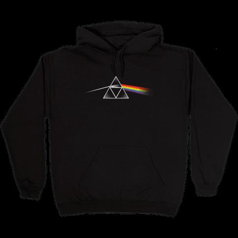 Dark Side of the Triforce Hooded Sweatshirt